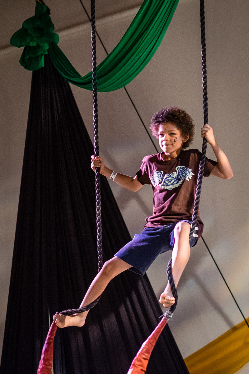 Youth Afterschool Circus Classes Begin Jan 17th!