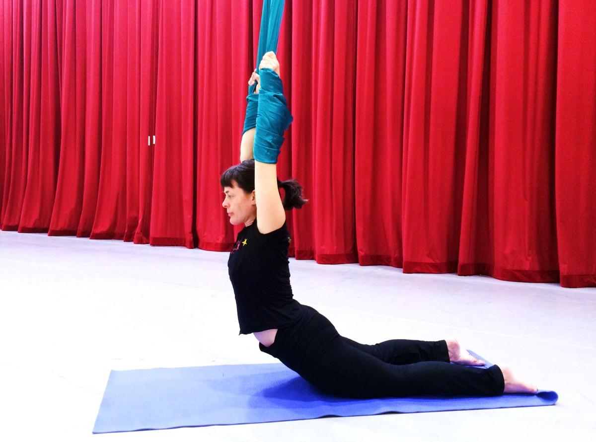 Aerial Yoga starts Oct 17