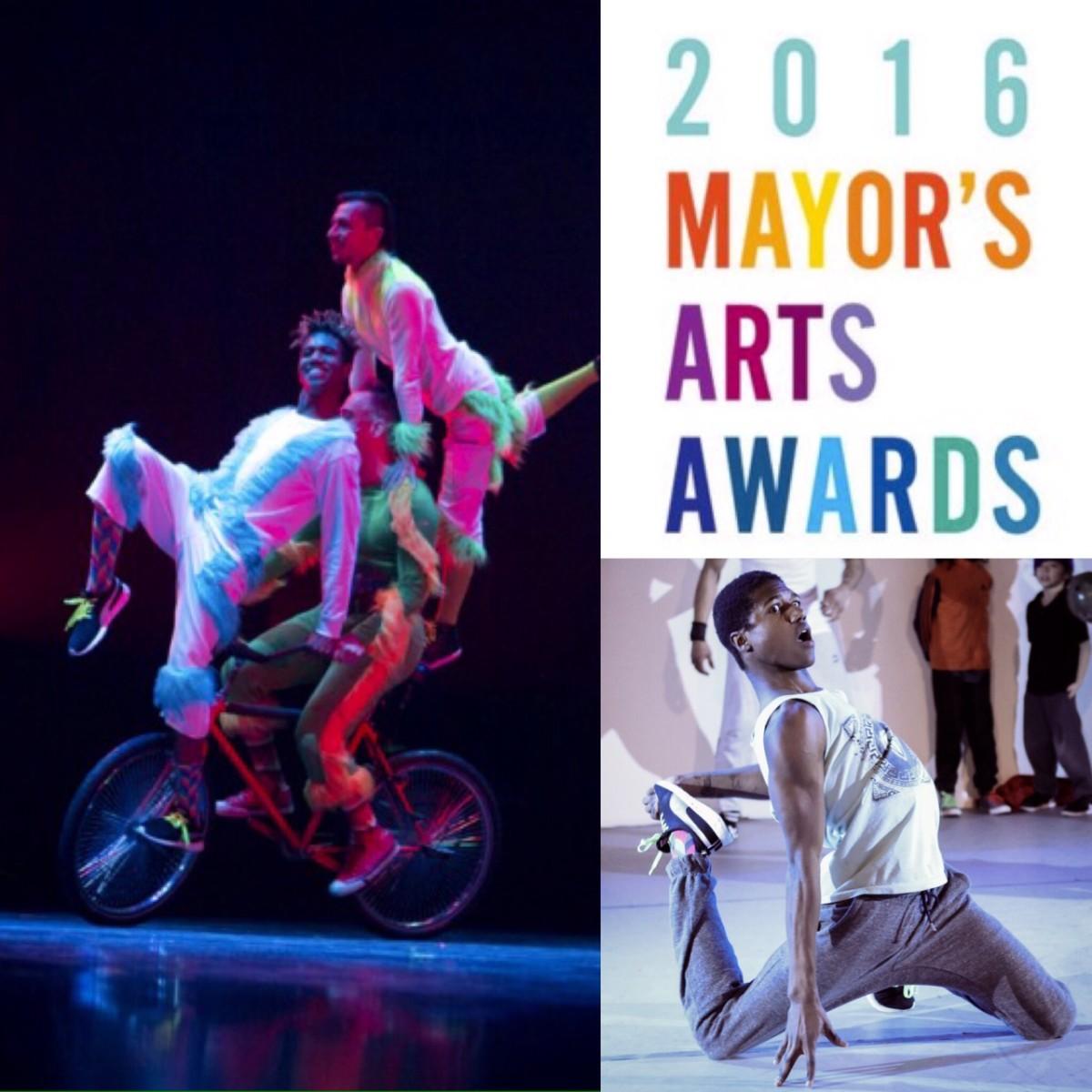 Zeke Farrell receives Mayors Youth Artist Award