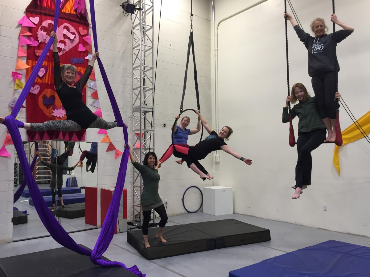 New Session of Adult/Teen Classes & Youth Aerials