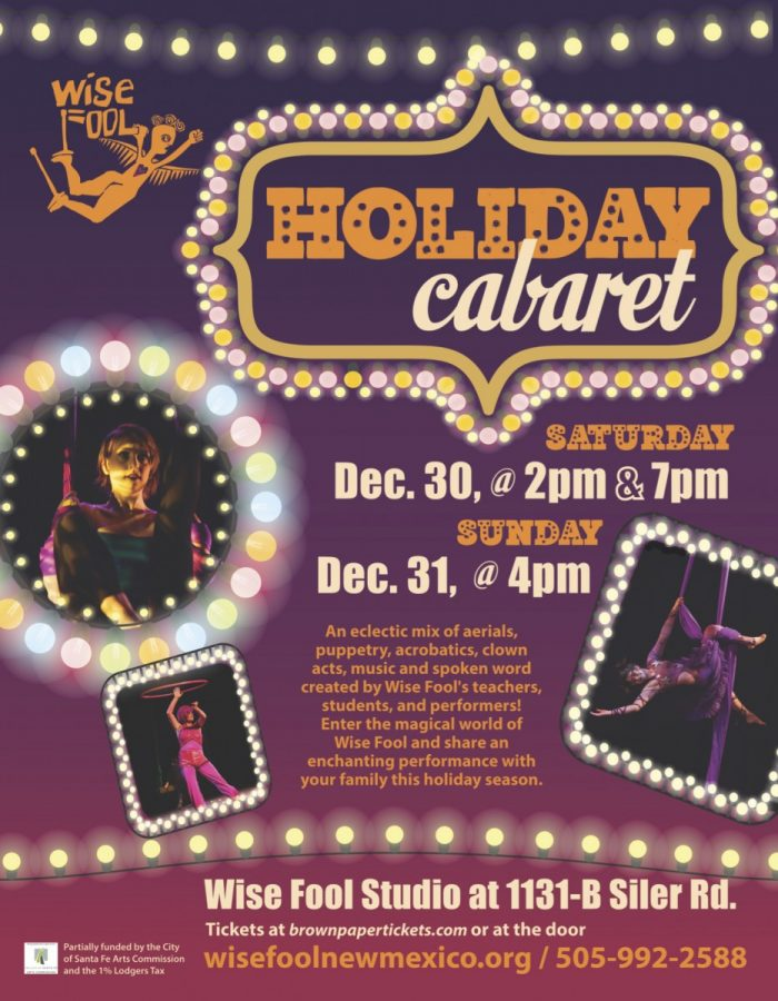 New Years Eve Weekend: Wise Fool's Holiday Circus Cabaret!