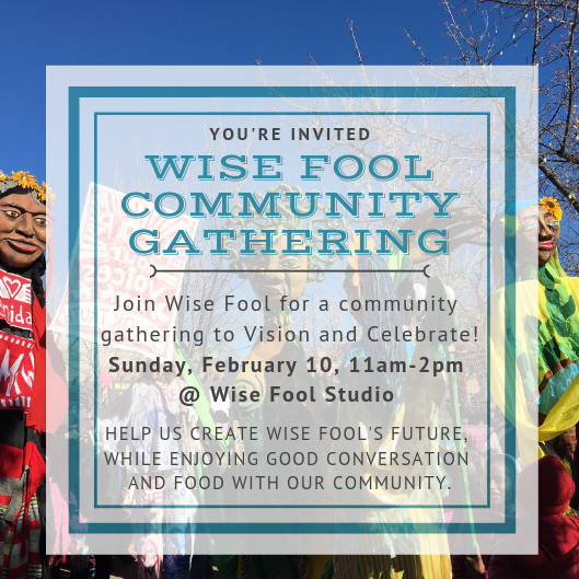 You're Invited: Community Celebration & Visioning Session