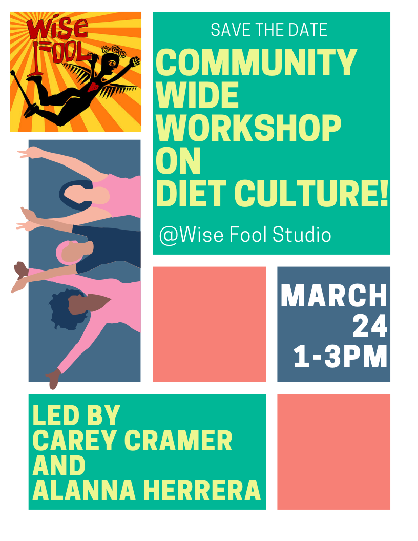 Community Wide Workshop on Diet Culture