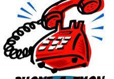 Phone-a-thon telephone